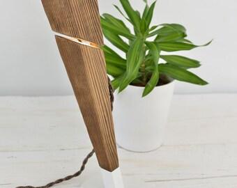 Wooden Lamp ,Architect Lamp, contemporary Lamp, Bedside Lamp, Wood Office Lamp, Work Lamp, Gift, Handmade, Desk Lamp, Table Lamp