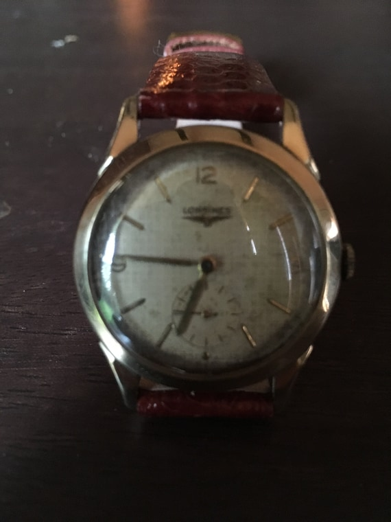 Longines from the 50's mens wrist watch - image 1