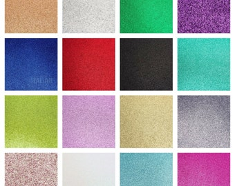 A4 GLITTER Premium Cardstock Quality 250gsm Card Arts Crafts Low Shed Wedding