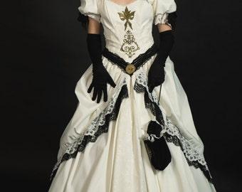 Steampunk steampunk wedding dress, alternative bridal gown, wedding dress, wedding dress, Victorian dress