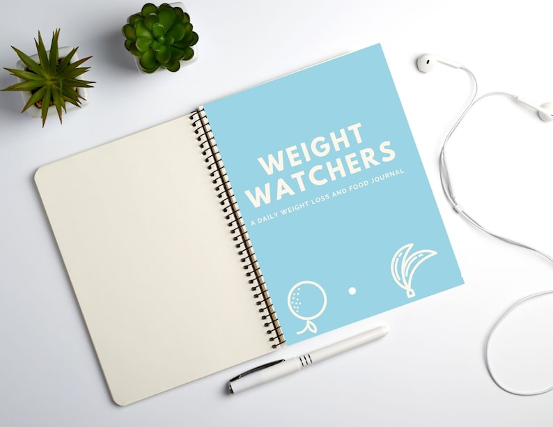 Printable Weight Watchers Weight Loss Journal image 0