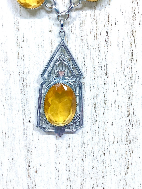 Antique Edwardian Necklace, Edwardian Necklace, F… - image 3