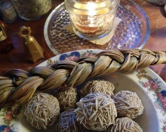 Desert Rose Selenite Crystals & Curiosities from The Cunning Toad