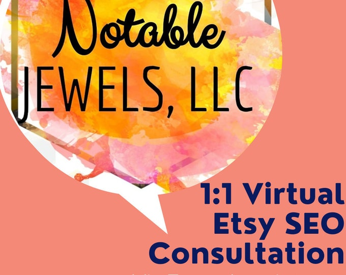Featured listing image: Etsy SEO Consultation, Etsy Shop Audit, Pattern Consultation, Best Practices