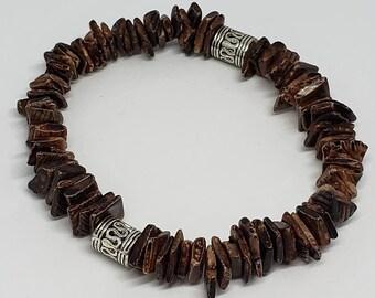 Brown Beach Shell Bracelet