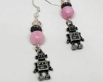 Kids Robot Earrings