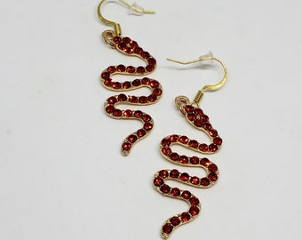 Snake Earrings (Different Colors Available)