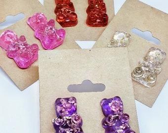 Wholesale Gummy Bear Earrings