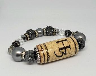 Silver Crest Bracelet