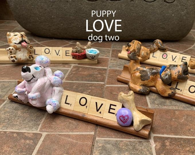Puppy Love Two Desk Pal