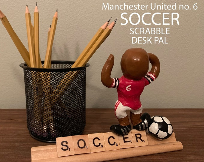 Manchester United F.C. Scrabble Desk Pal