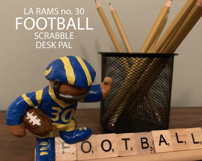 Los Angeles Rams Scrabble Desk Pal