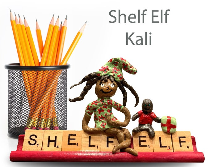 Scrabble Shelf Elf Kali