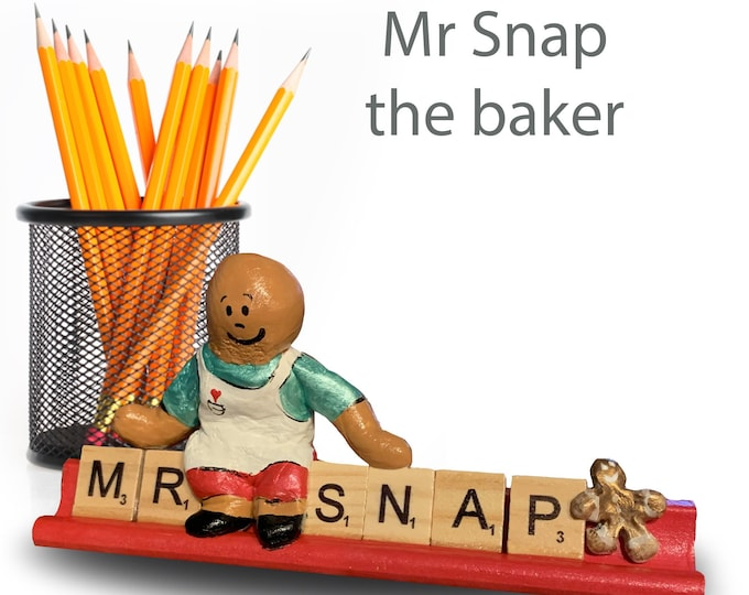 Mr Snap the Scrabble Baker