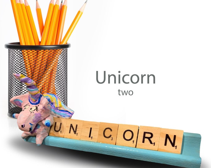 Scrabble Unicorn Two