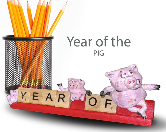 Scrabble Year of the Pig