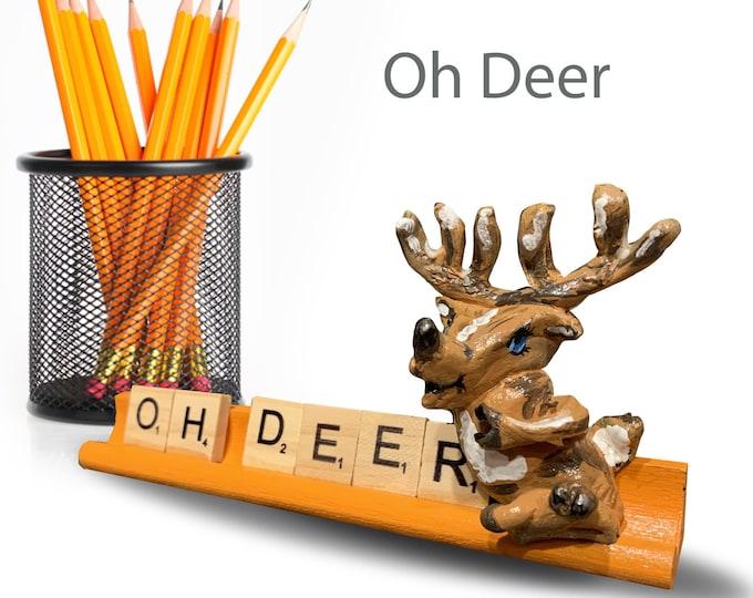 Scrabble Oh Deer