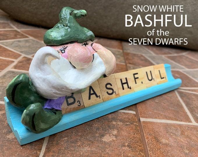 Bashful Scrabble Art