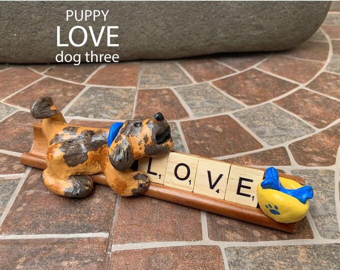 Puppy Love Three Desk Pal