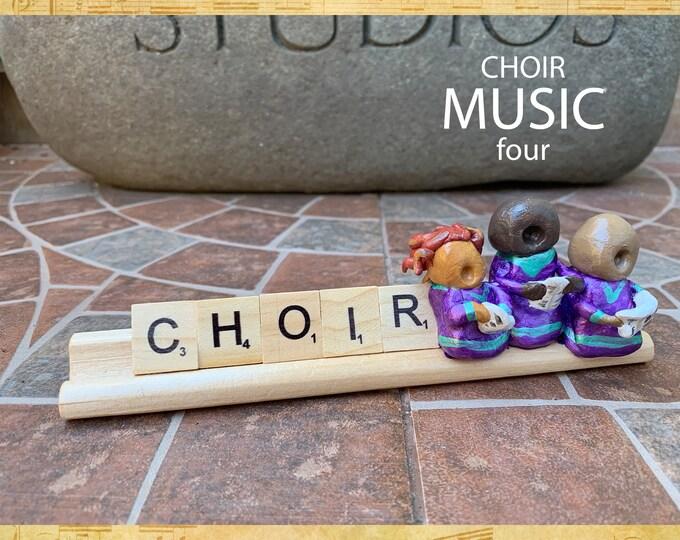 Music Choir Four Desk Pal