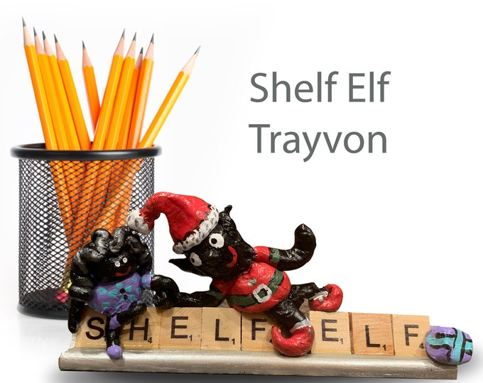 Scrabble Shelf Elf Trayvon