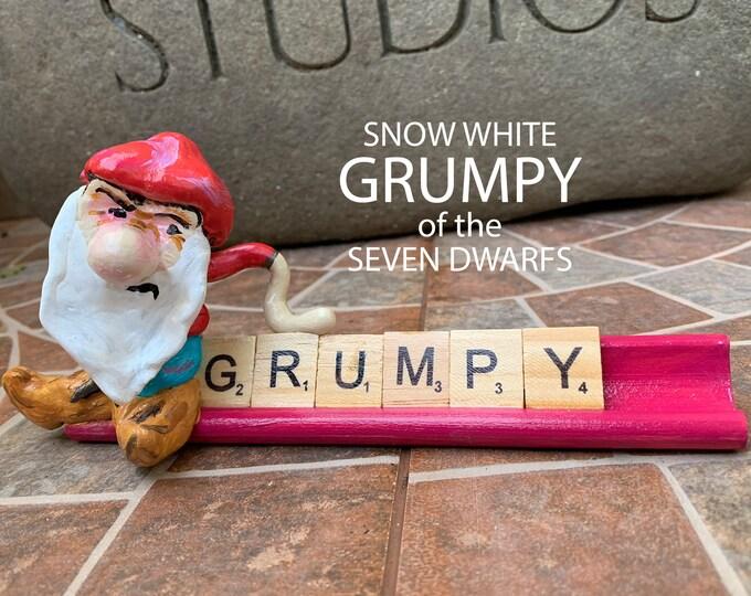 Grumpy Scrabble Art