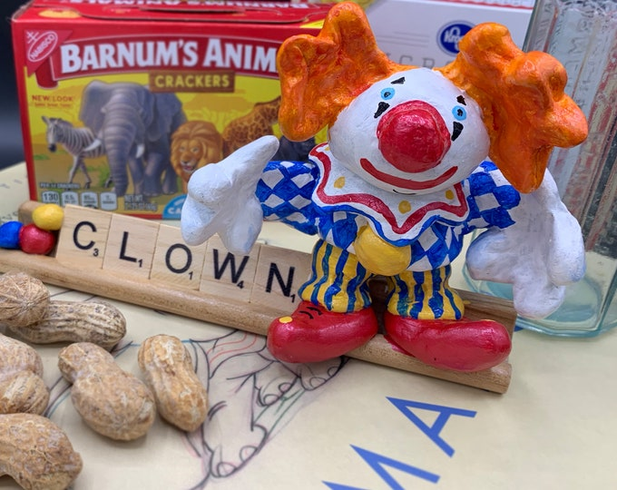 Scrabblized Circus Clown