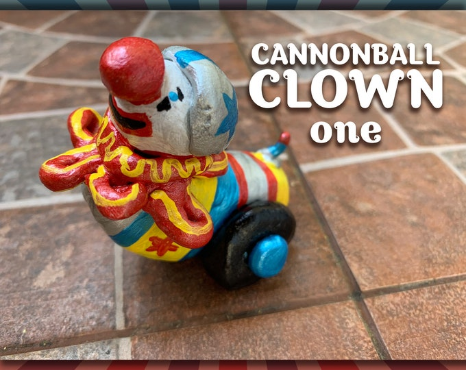 Lil' Circus Cannonball Clown one Pal
