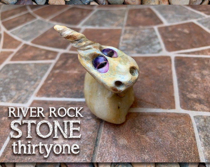 River Rock Stoned People 31 Desk Pal