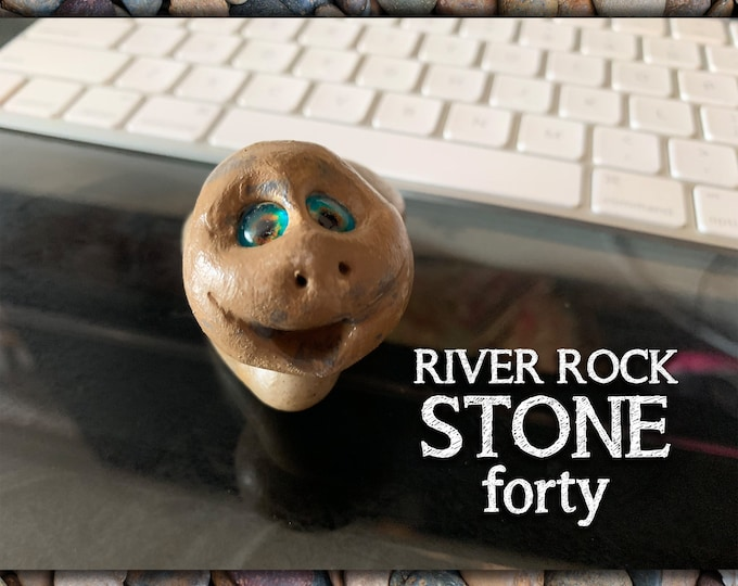 River Rock Stoned People 40 Desk Pal