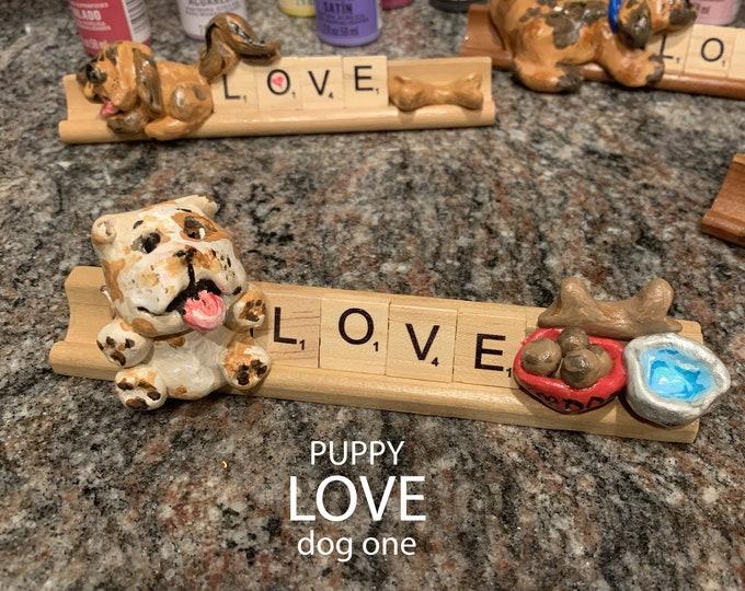 Puppy Love One Desk Pal