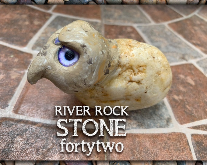River Rock Stoned People 42 Desk Pal
