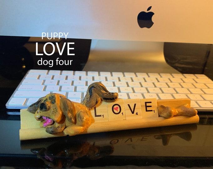 Puppy Love Four Desk Pal