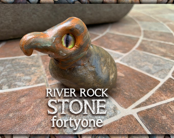 River Rock Stoned People 41 Desk Pal