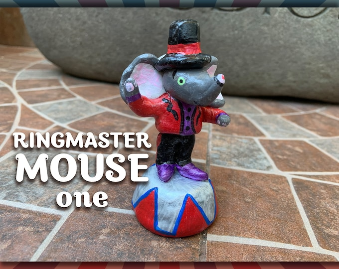 Lil' Circus Ringmaster Mouse one Pal