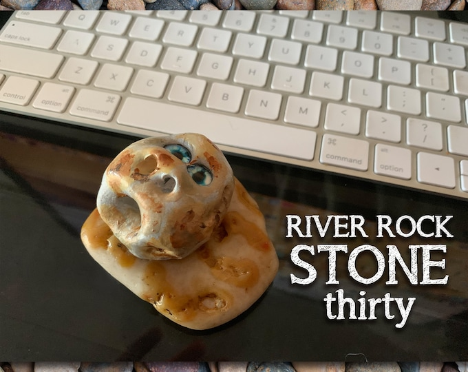 River Rock Stoned People 30 Desk Pal