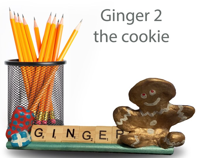 Scrabble Ginger Cookie 2