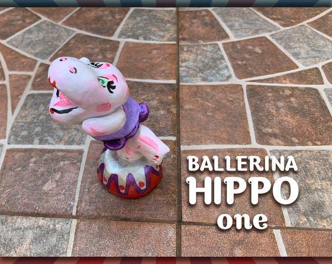 Lil' Circus Ballerina Hippo one Pal