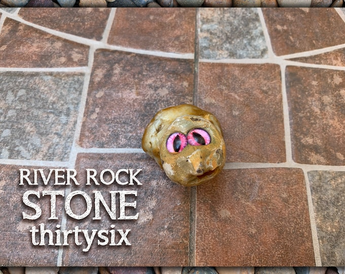 River Rock Stoned People 36 Desk Pal