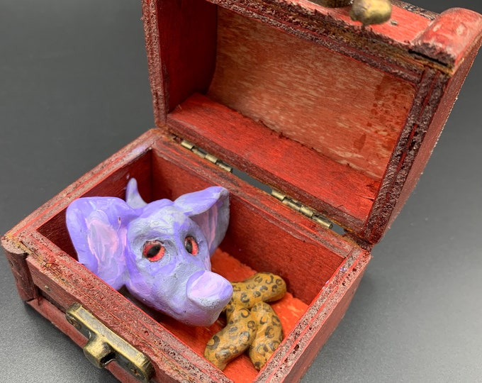 NANO Elephant Tiny Treasure Chest Pal