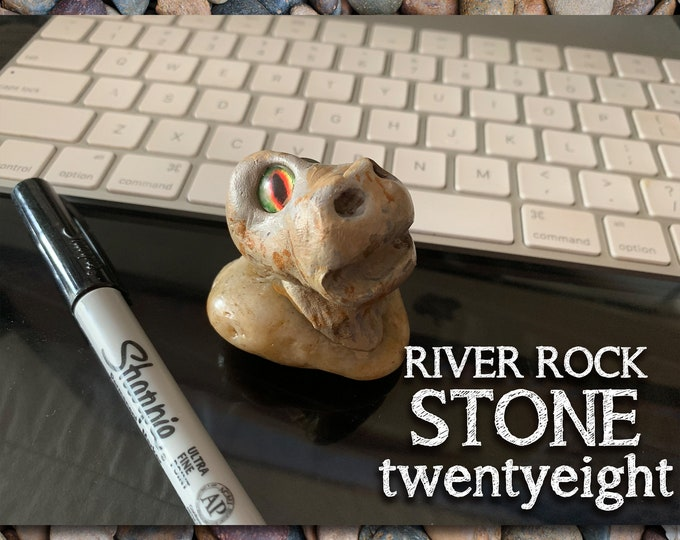 River Rock Stoned People 28 Desk Pal