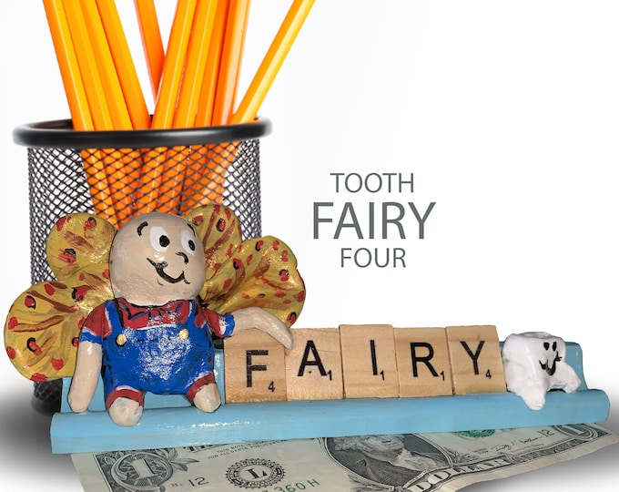 Scrabble Tooth Fairy Four