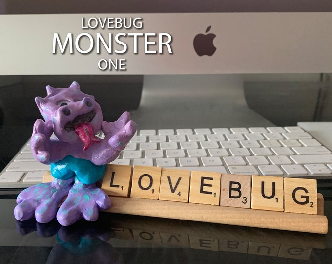Monster one Scrabble Desk Pal