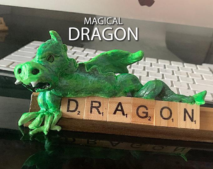 DRAGON Scrabble Desk Pal