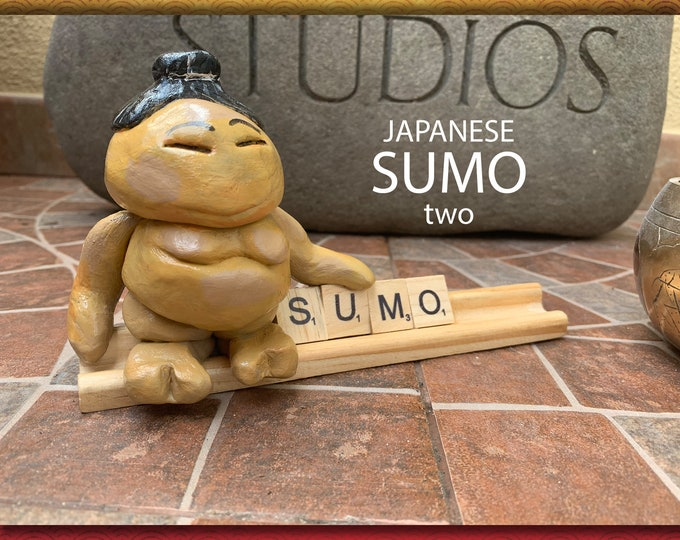 ART of Sumo Two Desk Pal