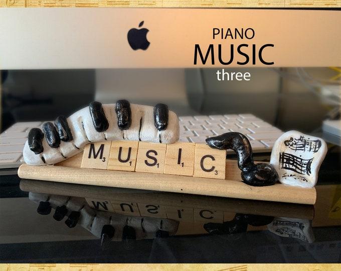 Music Piano Three Desk Pal
