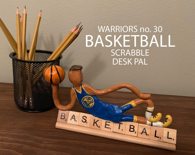 Golden State Warriors Scrabble Desk Pal