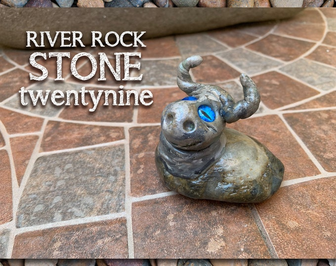 River Rock Stoned People 29 Desk Pal
