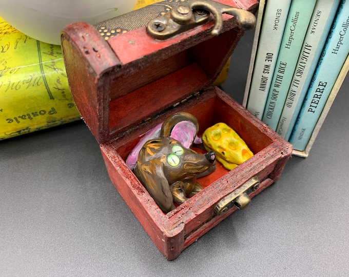 MINI MOUSE Tiny Treasure Chest Pal