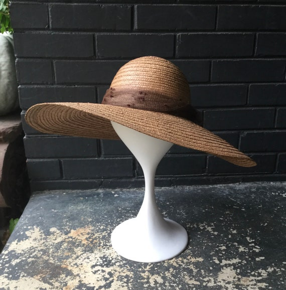 Vintage Sun Hat Wide Brim